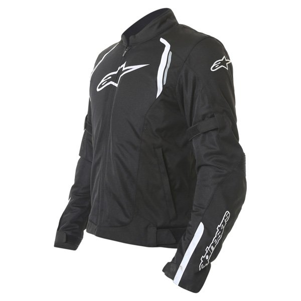 Alpinestars AST Air Mens Black Textile Motorcycle Jacket Side