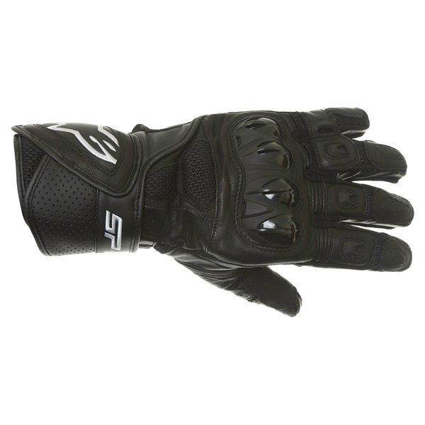 Alpinestars SP Air Black Motorcycle Gloves Back