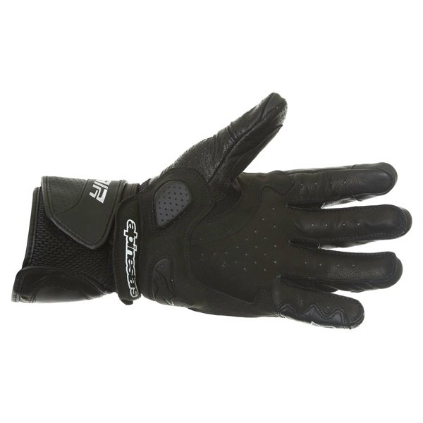 Alpinestars SP Air Black Motorcycle Gloves Palm