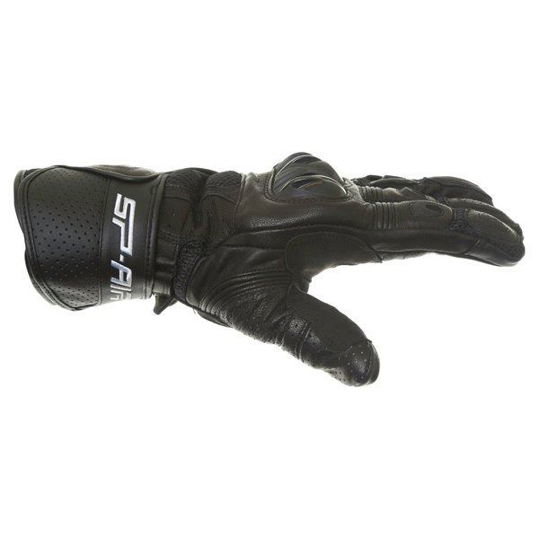 Alpinestars SP Air Black Motorcycle Gloves Thumb side