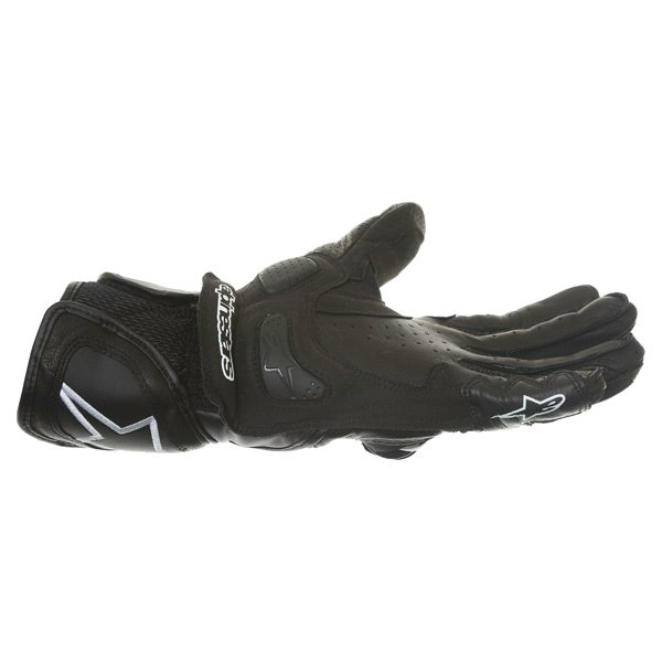 Alpinestars SP Air Black Motorcycle Gloves Little finger side