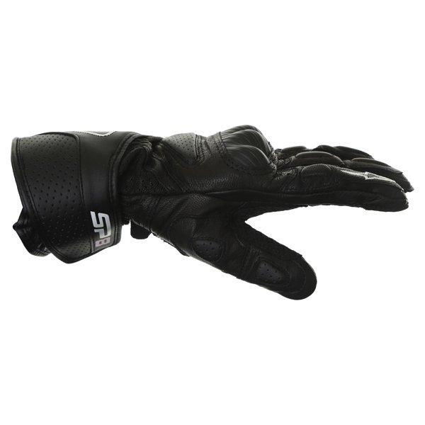 Alpinestars Stella SP-8 Ladies Black Motorcycle Gloves Thumb side
