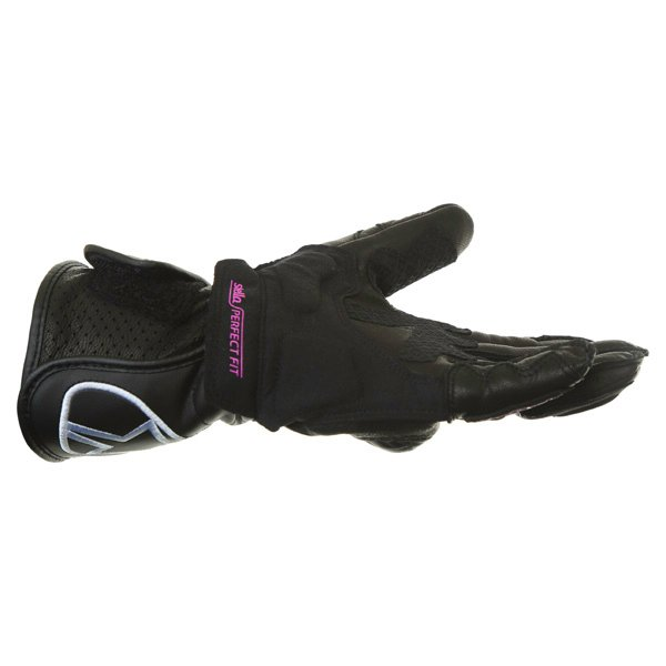 Alpinestars Stella SP-8 Ladies Black Motorcycle Gloves Little finger side