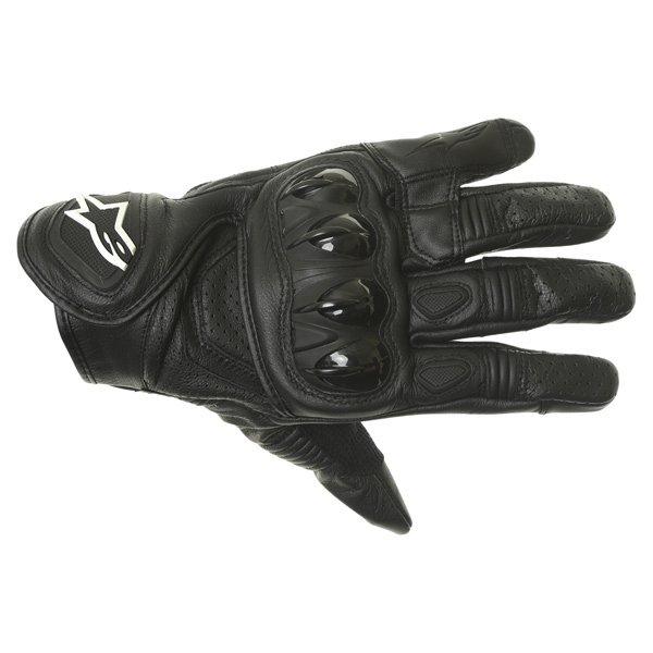 Alpinestars Celer Black Motorcycle Gloves Back