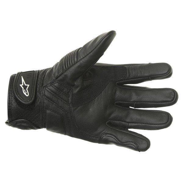 Alpinestars Celer Black Motorcycle Gloves Palm