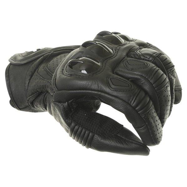 Alpinestars Celer Black Motorcycle Gloves Knuckle