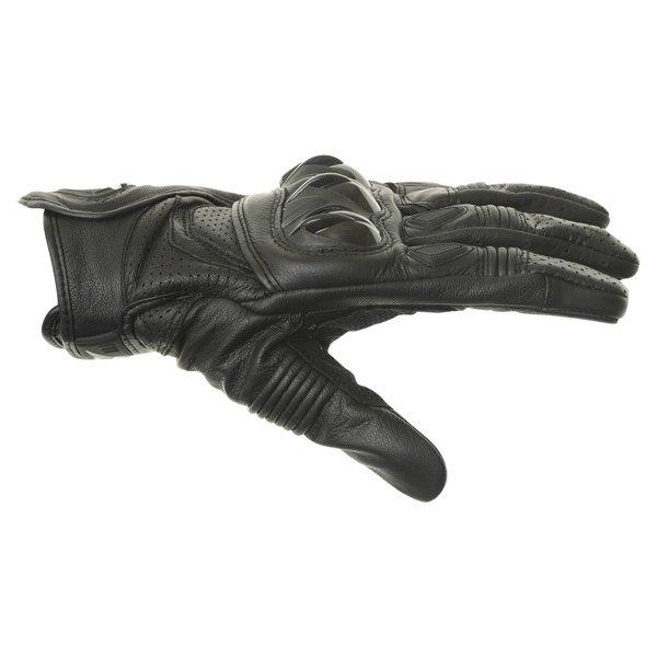 Alpinestars Celer Black Motorcycle Gloves Thumb side