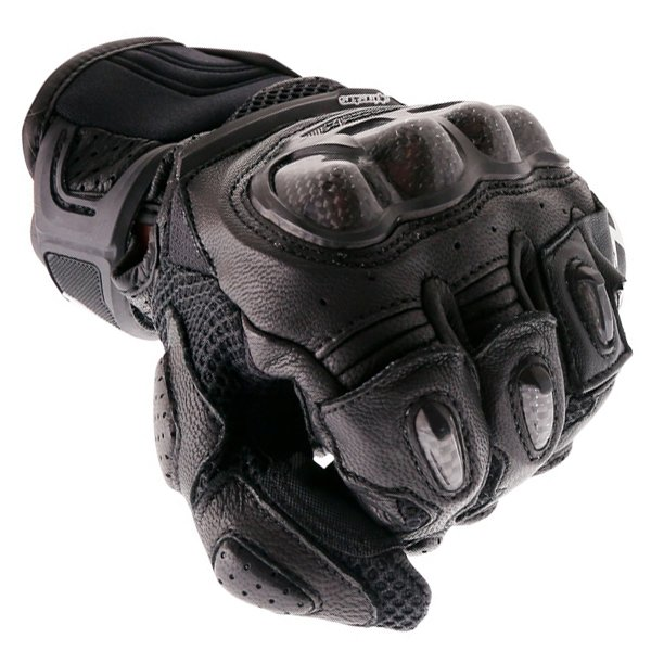 Alpinestars SPX Air Carbon Black Motorcycle Gloves Knuckle