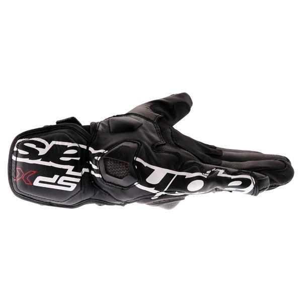 Alpinestars SPX Air Carbon Black Motorcycle Gloves Little finger side