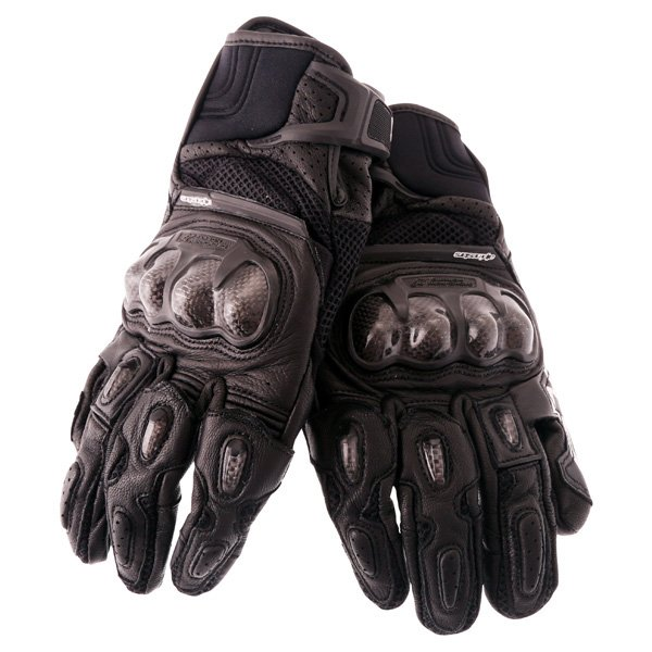 Alpinestars SPX Air Carbon Black Motorcycle Gloves