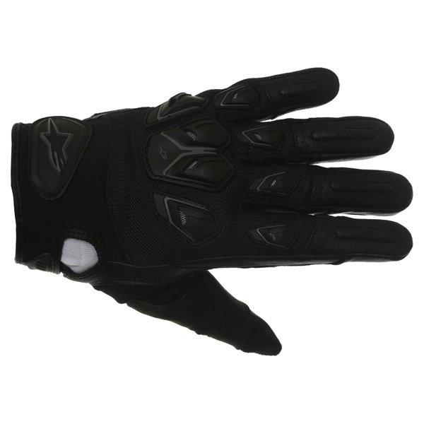 Alpinestars Masai Black Motorcycle Gloves Back