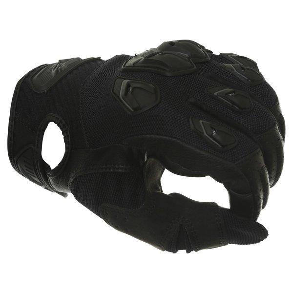 Alpinestars Masai Black Motorcycle Gloves Knuckle
