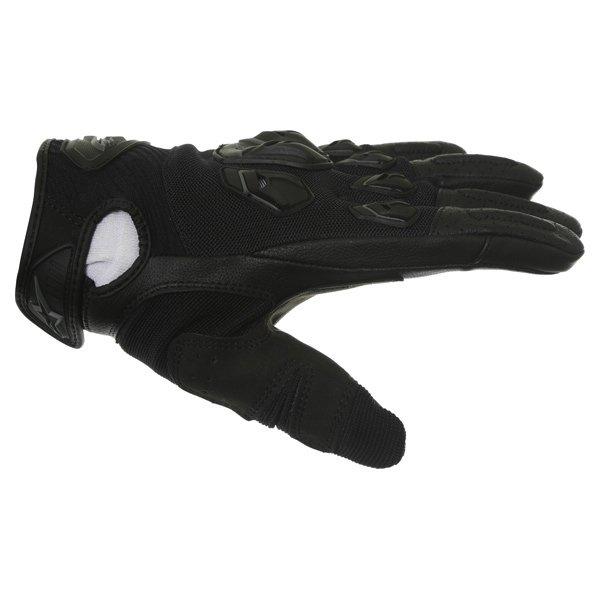 Alpinestars Masai Black Motorcycle Gloves Thumb side