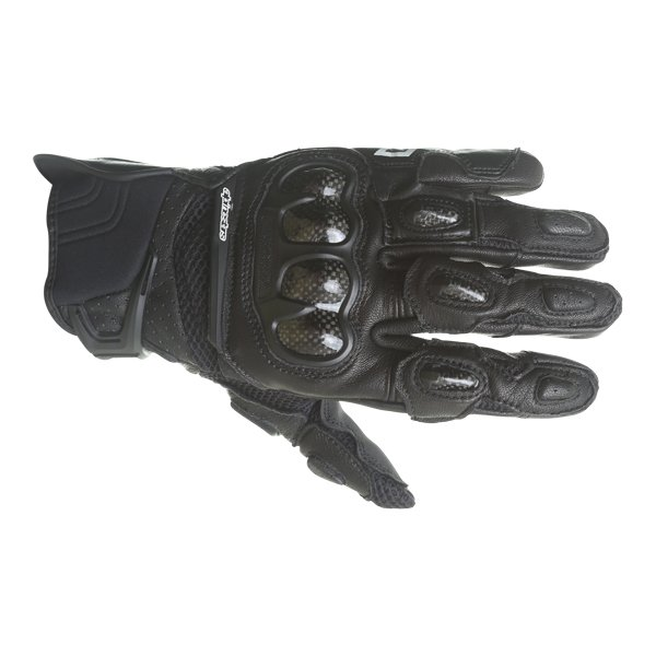 Alpinestars Stella SPX AC Ladies Black Motorcycle Gloves Back