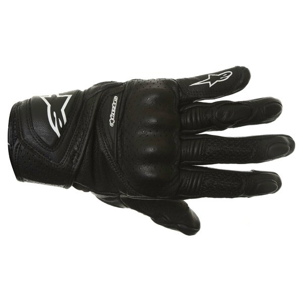 Alpinestars Stella Baika Ladies Black Motorcycle Gloves Back