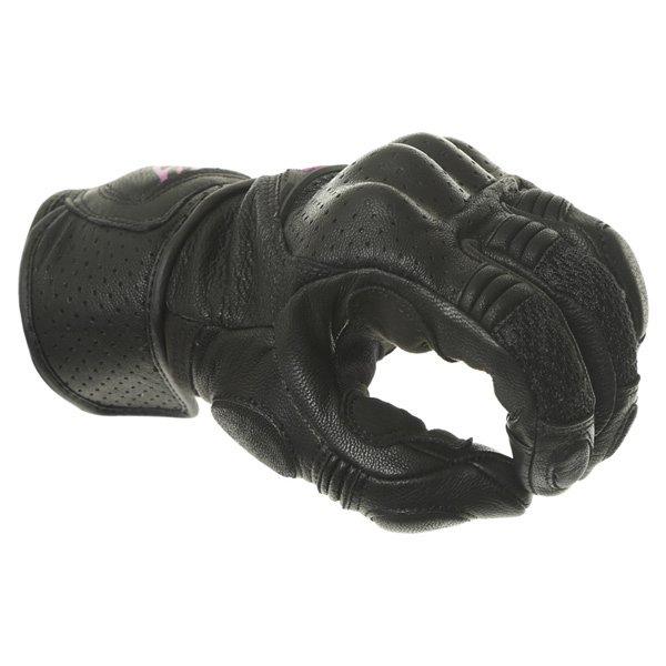 Alpinestars Stella Baika Ladies Black Pink Motorcycle Gloves Knuckle