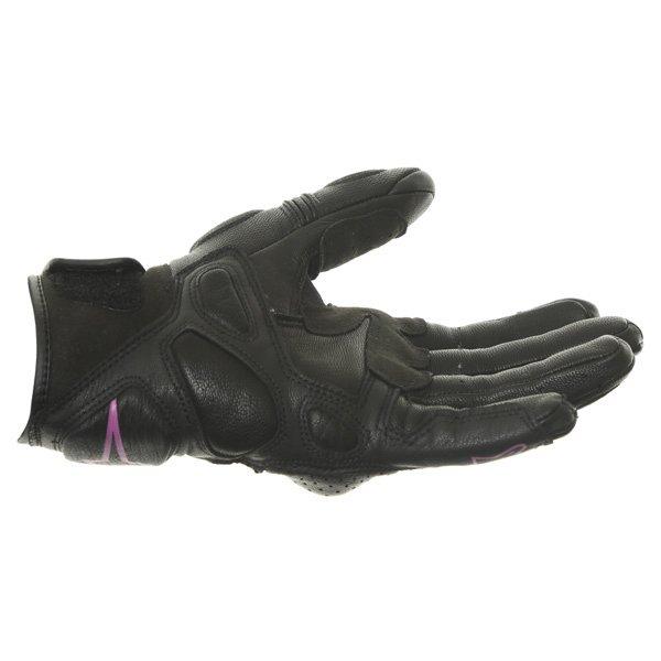 Alpinestars Stella Baika Ladies Black Pink Motorcycle Gloves Little finger side
