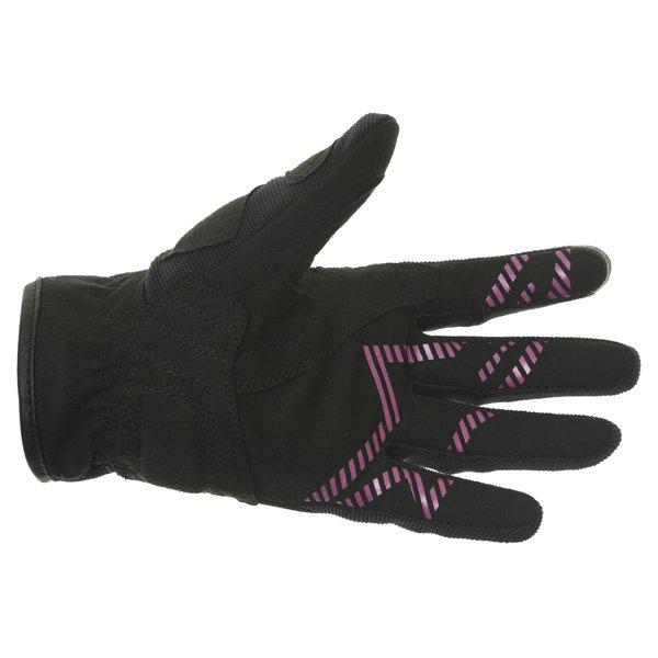 Alpinestars Stella Asama Air Ladies Black Rose Violet Motorcycle Gloves Palm