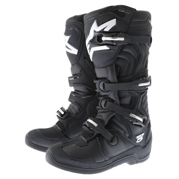 Tech 5 Boots Black Motocross Boots