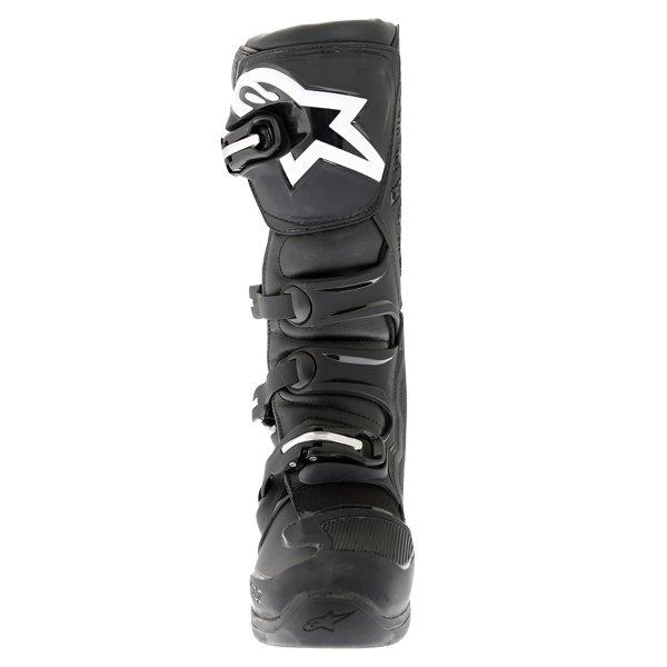 Alpinestars Tech 5 Black Motocross Boots Front