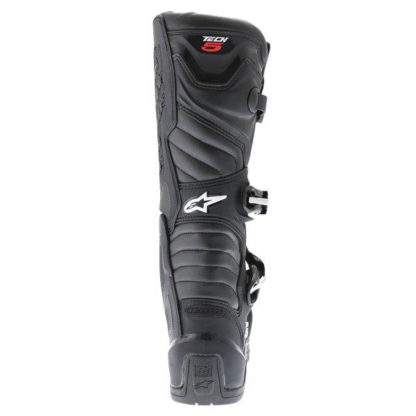 Alpinestars Tech 5 Black Motocross Boots Heel