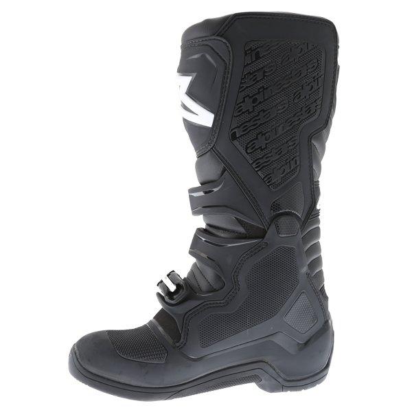 Alpinestars Tech 5 Black Motocross Boots Inside leg