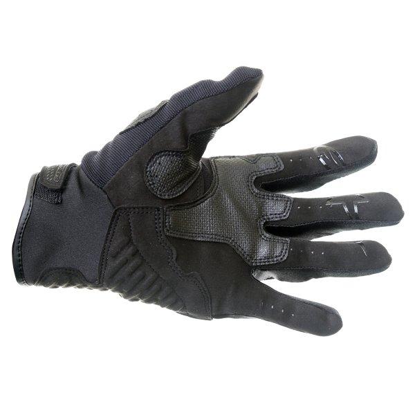 Alpinestars Megawatt Hard Knuckle Black Motocross Gloves Palm