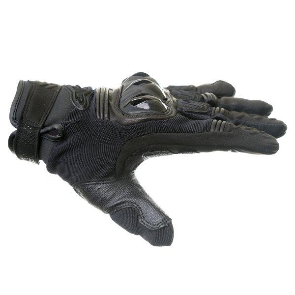 Alpinestars Megawatt Hard Knuckle Black Motocross Gloves Thumb side