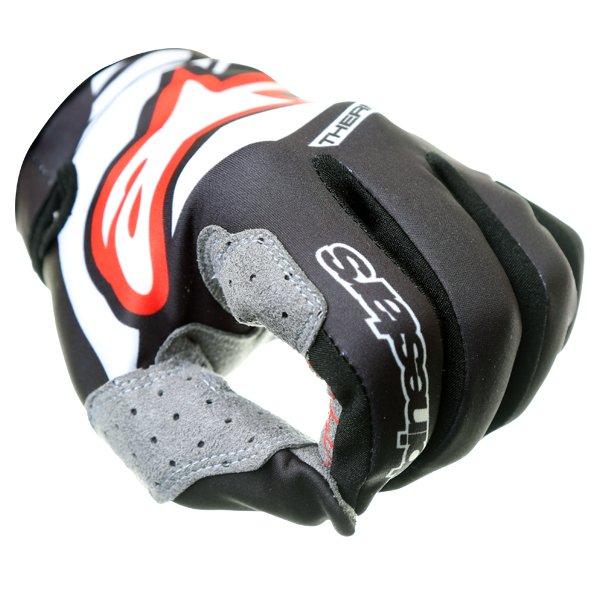 Alpinestars Neo Moto Black Motocross Gloves Knuckle