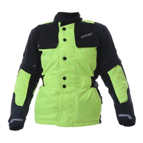 Explorer 2 Jacket Black Flo Yellow Clothing