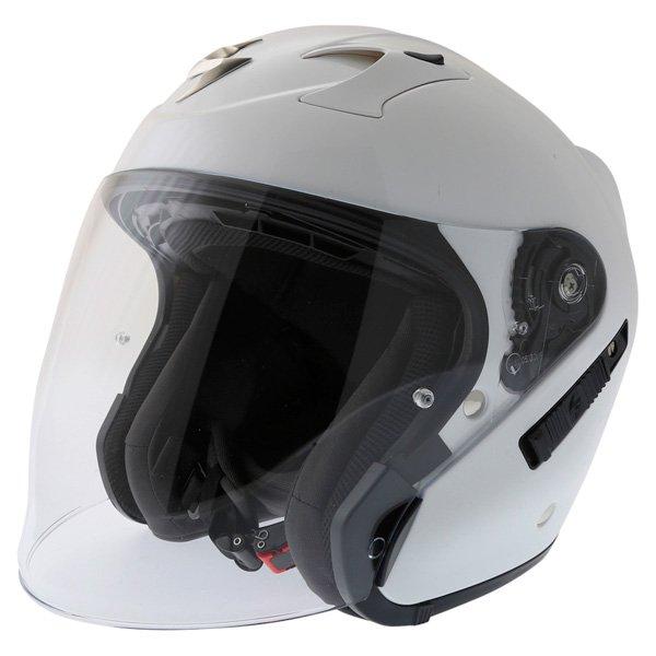 Exo 220 Helmet White Scorpion Helmets