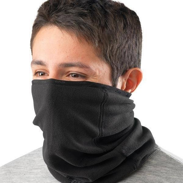 Xwarm Fleece Neck Tube Black Clothing