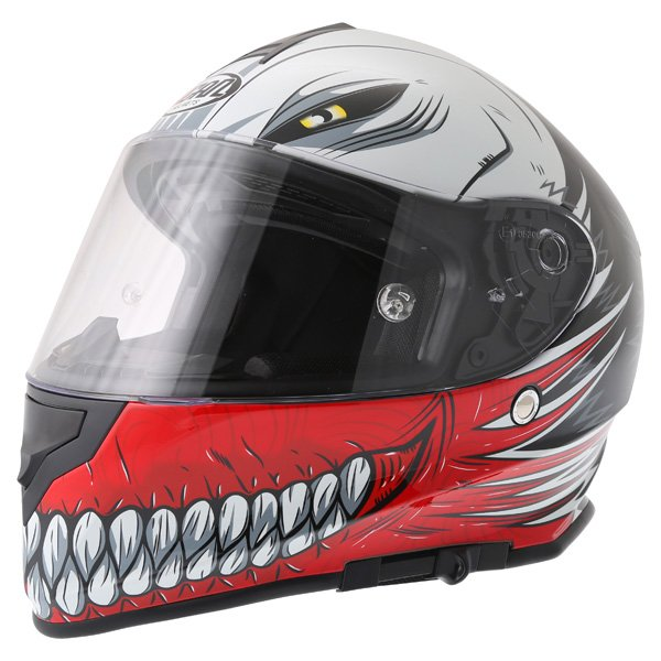 V127 Hollow Helmet Red Vcan Helmets