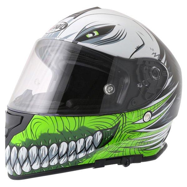 V127 Hollow Helmet Green Vcan Helmets