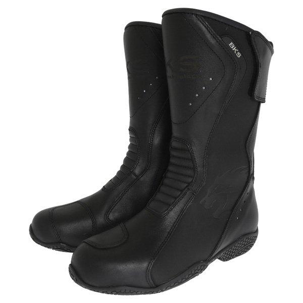 BKS BKB008 Alice Black Ladies Motorcycle Boots Pair