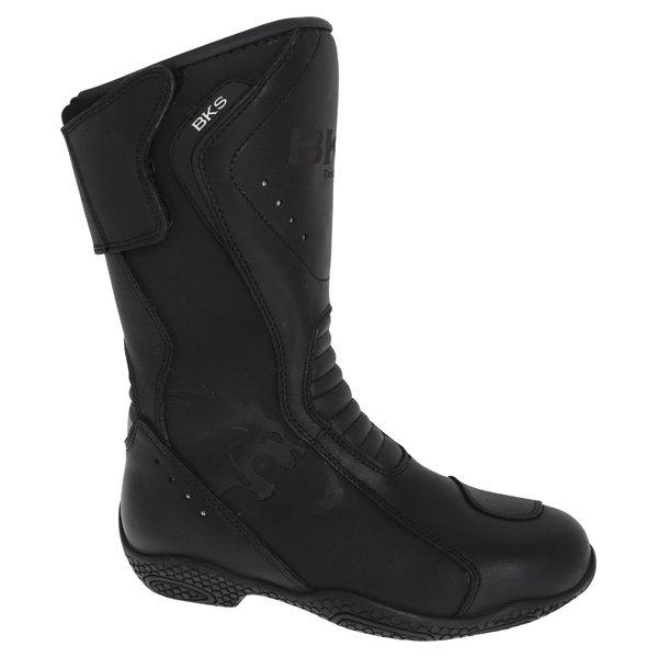 BKS BKB008 Alice Black Ladies Motorcycle Boots Outside leg