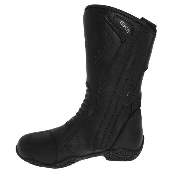 BKS BKB008 Alice Black Ladies Motorcycle Boots Inside leg