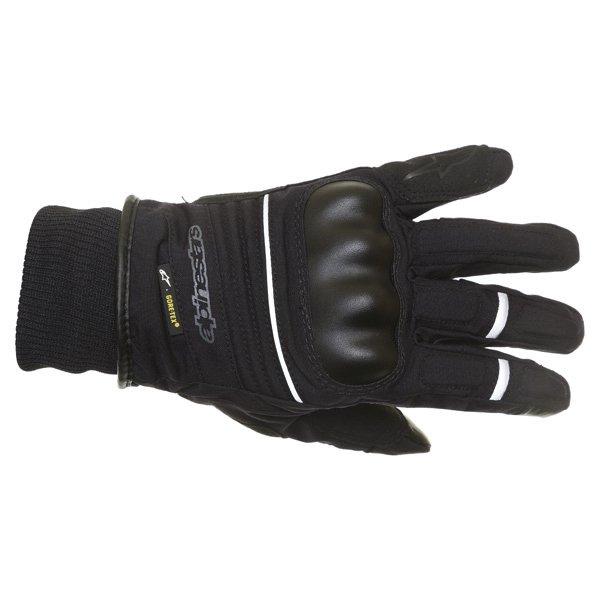 Alpinestars Tucuman GoreTex Black Waterproof Motorcycle Gloves Back