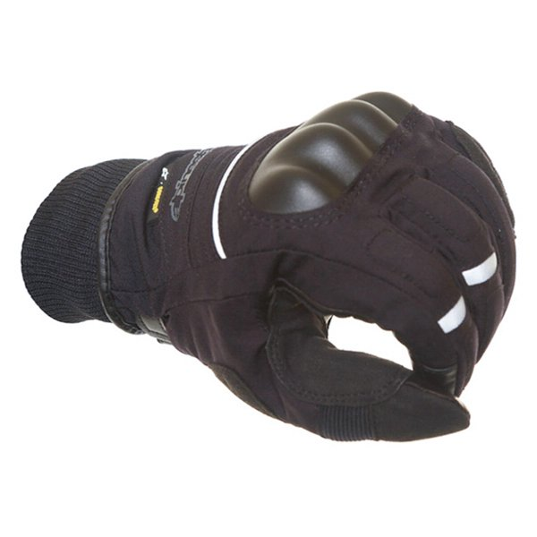Alpinestars Tucuman GoreTex Black Waterproof Motorcycle Gloves Knuckle