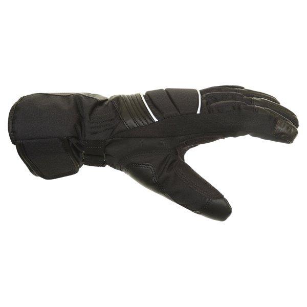 Alpinestars Oslo Drystar Black Grey Waterproof Motorcycle Gloves Thumb side