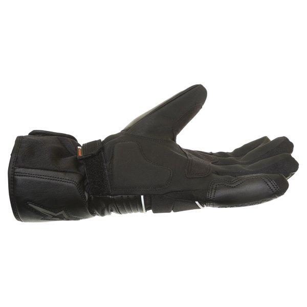 Alpinestars Oslo Drystar Black Grey Waterproof Motorcycle Gloves Little finger side