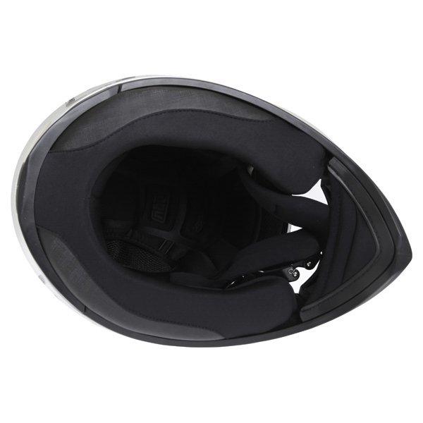 AGV K3 SV Scudetto Matt Silver Full Face Motorcycle Helmet Inside