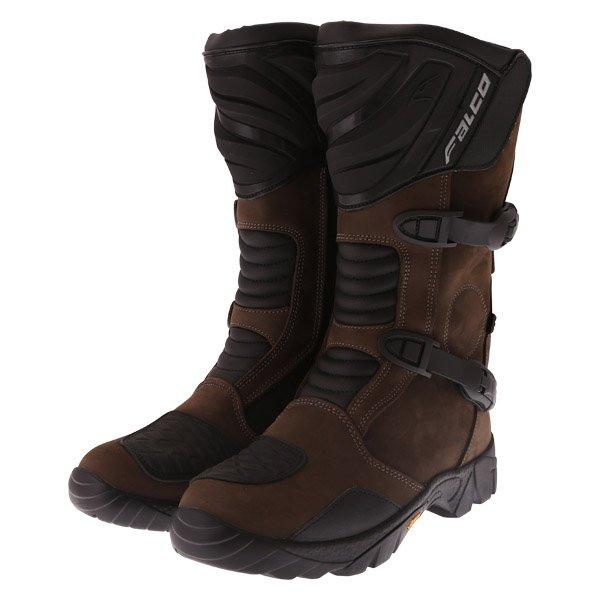 Falco Mixto 2 ATV Pair Brown Motorcycle Boots