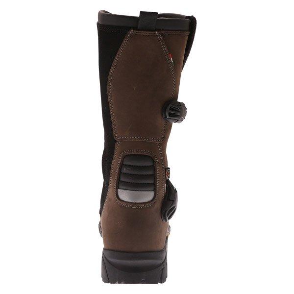 Falco Mixto 2 ATV Brown Motorcycle Boots Heel