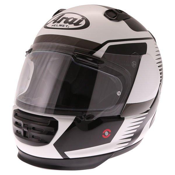 Arai Rebel Venturi White Full Face Motorcycle Helmet Front Left