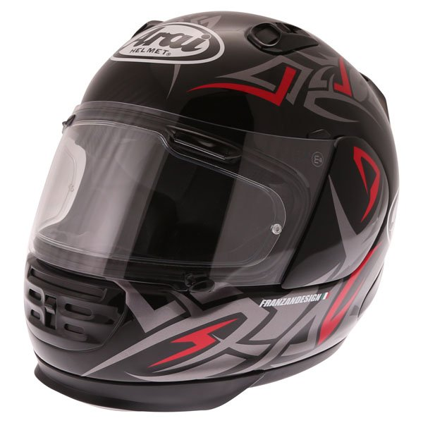 Arai Rebel Groove Full Face Motorcycle Helmet Front Left