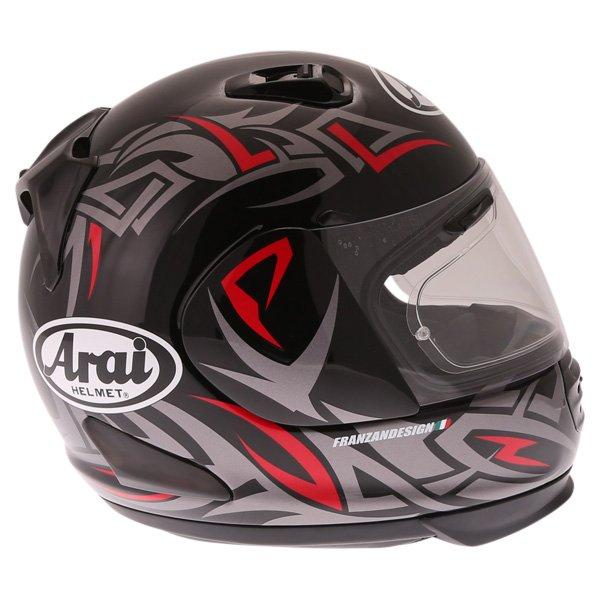 Arai Rebel Groove Full Face Motorcycle Helmet Right Side