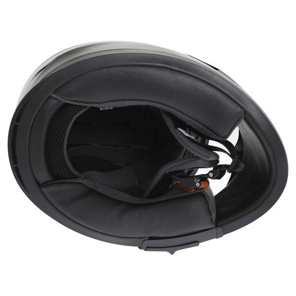 Frank Thomas FT36SV Black Full Face Motorcycle Helmet Inside