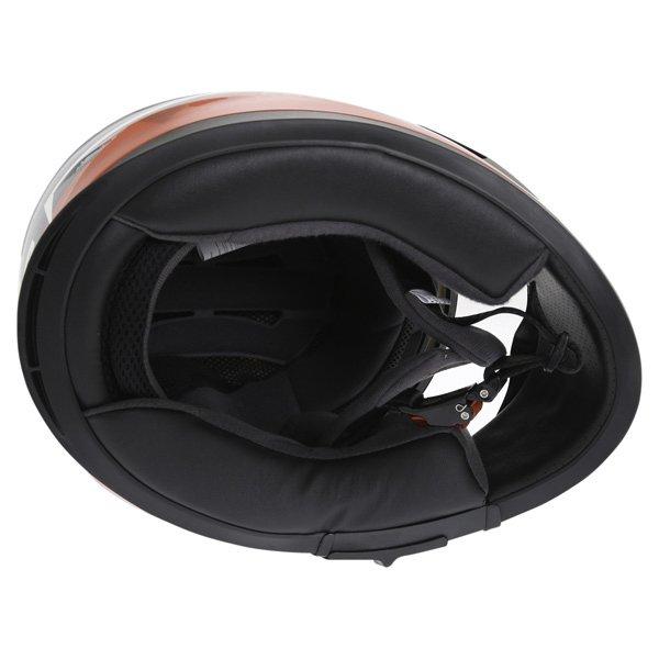 Frank Thomas FT36SV Modena White Red Black Full Face Motorcycle Helmet Inside