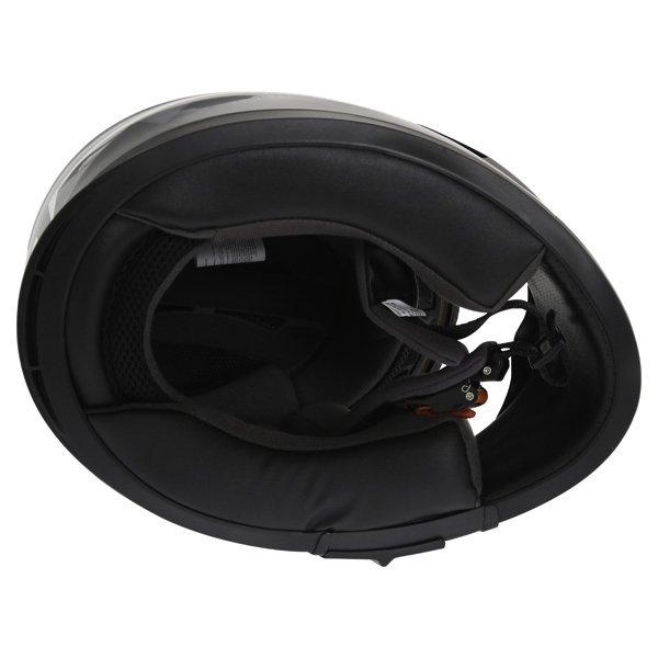 Frank Thomas FT36SV Modena White Black Grey Full Face Motorcycle Helmet Inside